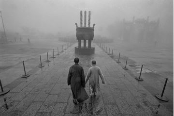 Picture of Monks in the Mist, 1999