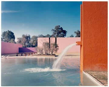 Picture of Horse Pool in San Cristobal, The Clubs, Mexico City. c. 1968-1975