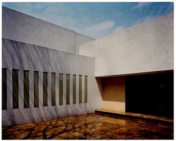 Picture of Courtyard, Gilardi House, Mexico City. c. 1979