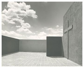 Picture of Roof Terrace 4, Barragán House, Mexico City. c. 1948