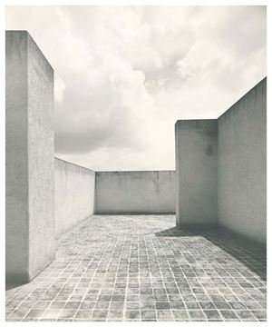 Picture of Roof Terrace 3, Barragán House, Mexico City. c. 1948
