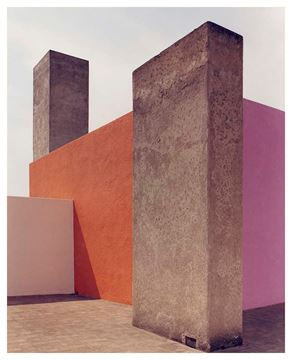 Picture of Roof Terrace 2, Barragán House, Mexico City. c. 1965-1975