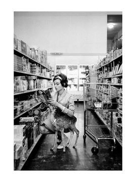 Picture of Audrey takes Ip shopping, Audrey & Ip, 1958
