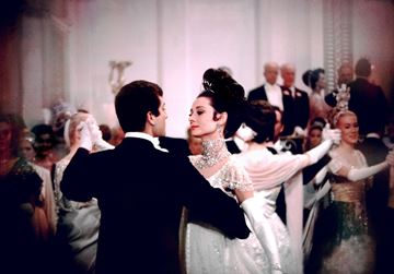 Picture of The prince dances with the beautiful Eliza, My Fair Lady, 1963