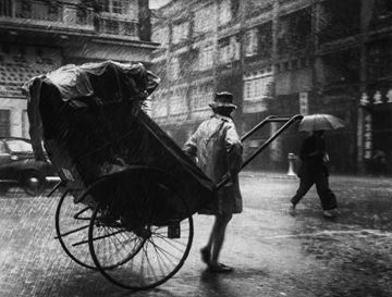 Picture of Rickshaw, Wan Chai, 1956