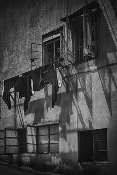 Picture of Back Alley, Wan Chai, 1962
